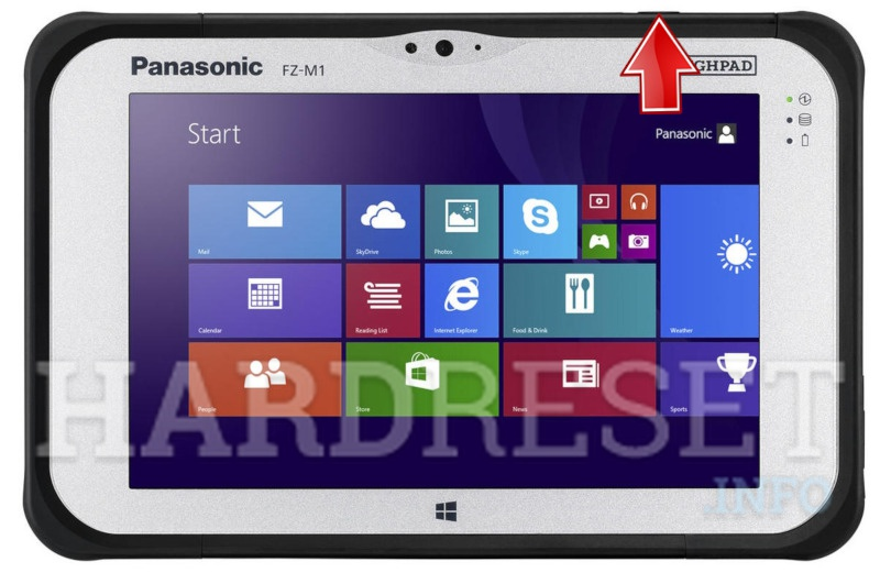 Hard Reset PANASONIC ToughPad FZ-M1