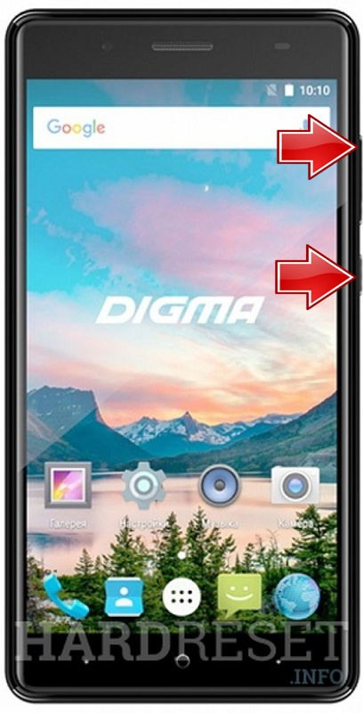 Permanently delete data from DIGMA Hit Q500 3G
