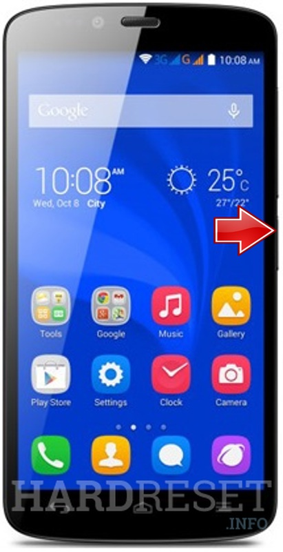 Permanently delete data from HUAWEI Honor 3C Lite