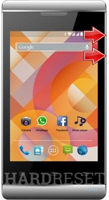 Remove screen password on K-TOUCH A20