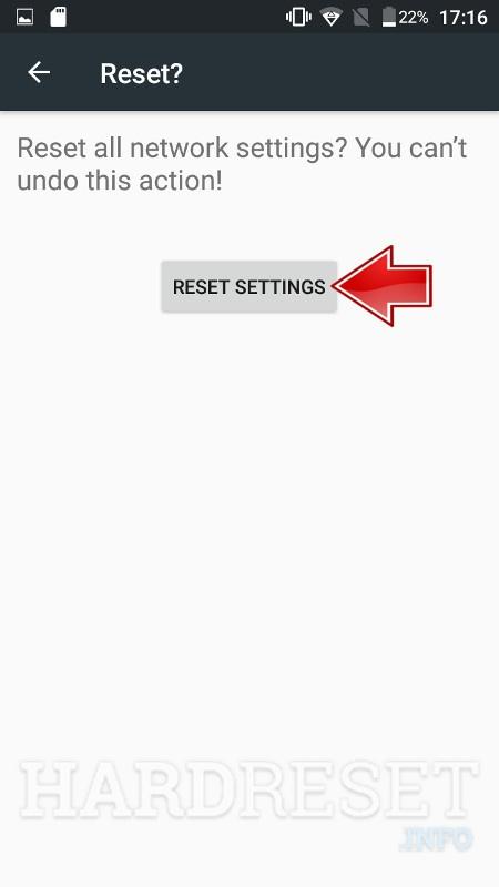 Reset Network Settings ASUS Memo Pad 7 ME375CL - HardReset info
