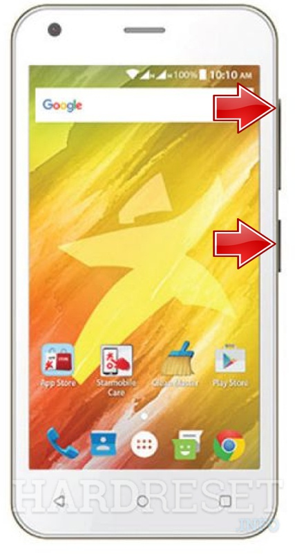 Remove screen password on STARMOBILE Play Dash