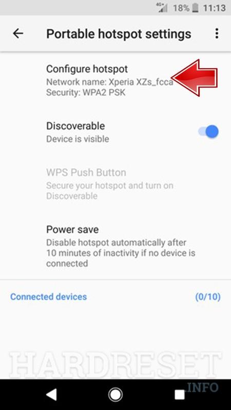 Portable Hotspot SONY Xperia XA1 Ultra Dual - HardReset info