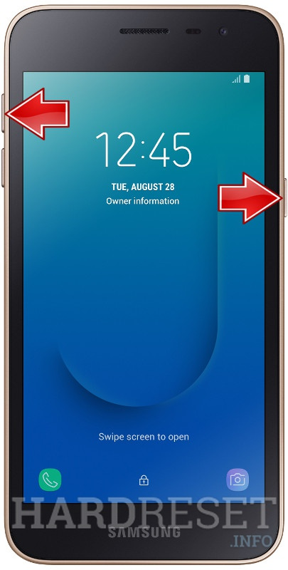 Permanently delete data from SAMSUNG Galaxy J2 Core