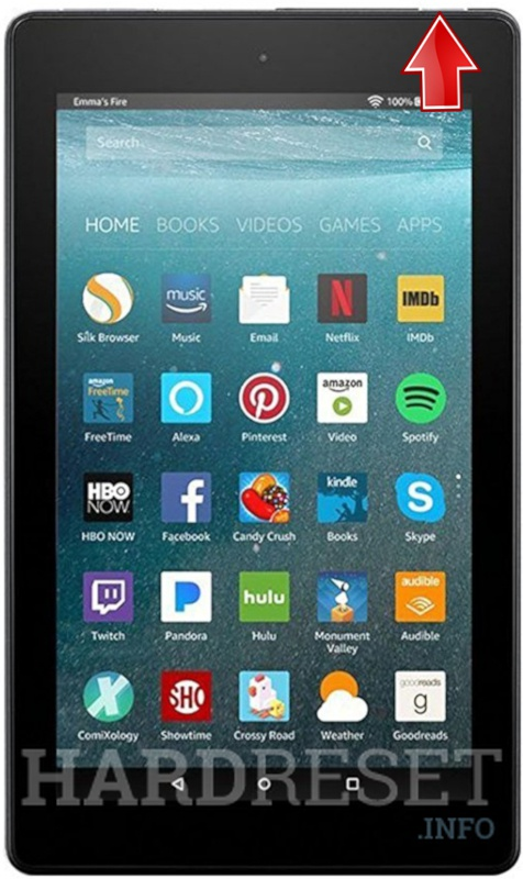 Hard Reset AMAZON Fire 7 (2017)