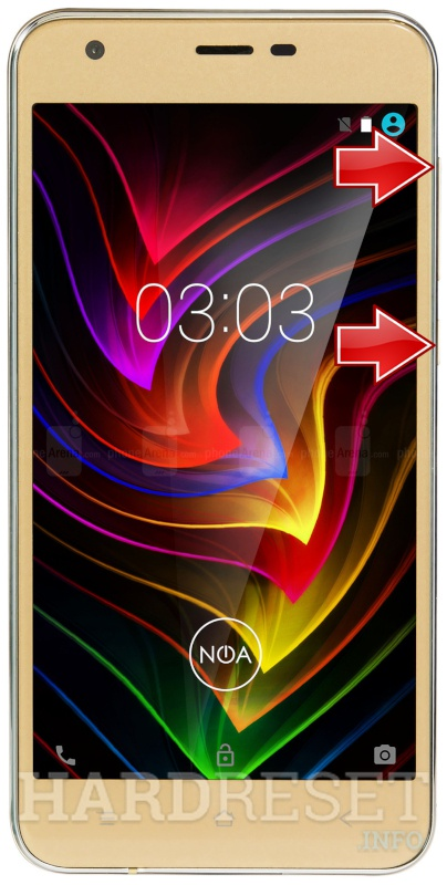 Remove Screen Lock on NOA Sprint 4G