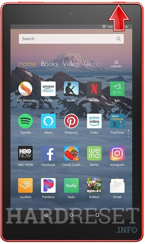 Hard Reset AMAZON Fire HD 8 2018
