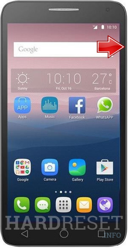 dce8e42839a Download Mode - ALCATEL OneTouch POP 3 5025D - HardReset.info