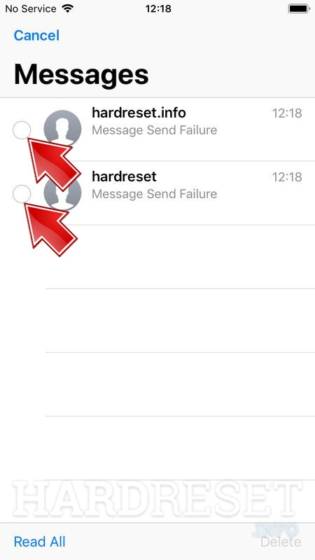How to clear iMessage history in APPLE iPhone 4 CDMA