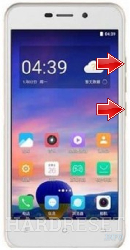 Remove screen password on DOOV V31
