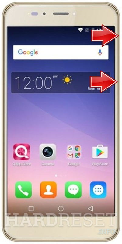 Remove screen password on QMOBILE CS1 PLUS