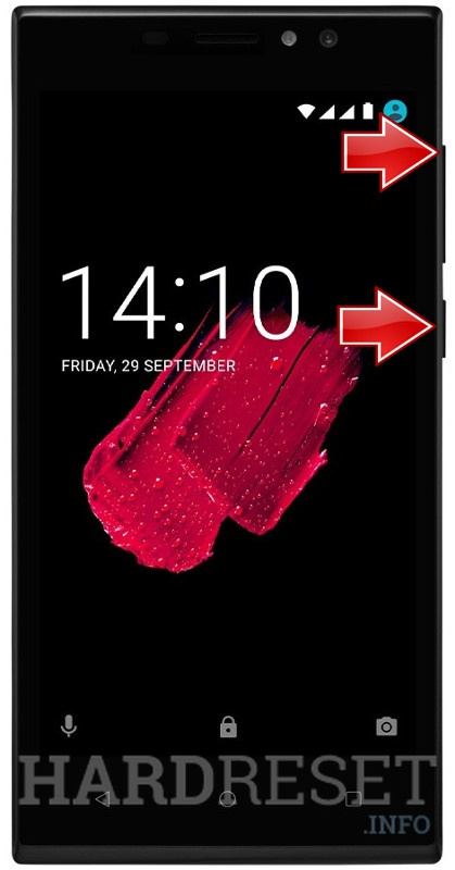 Remove screen password on PRESTIGIO Muze C5