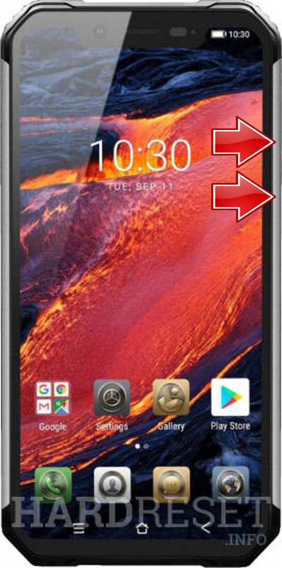 Remove screen password on BLACKVIEW BV9600 Plus