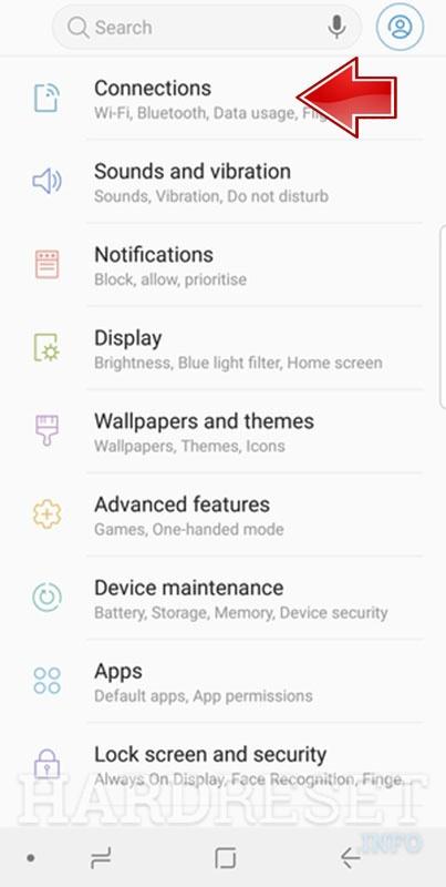 Portable Hotspot SAMSUNG Galaxy A9 (2018) - HardReset info