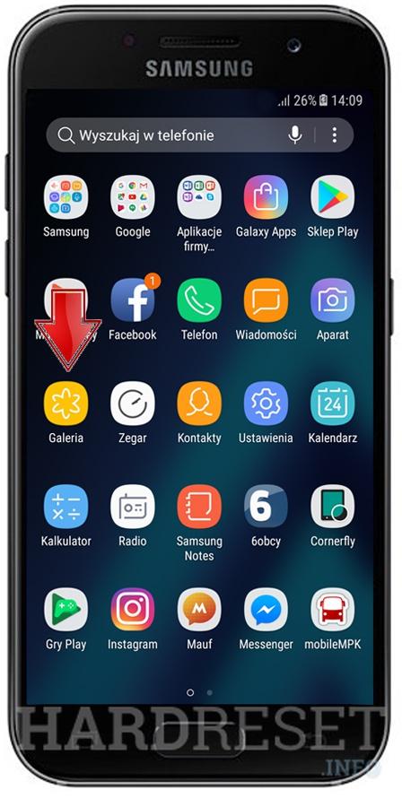 Screenshot SAMSUNG A520F Galaxy A5 (2017) - HardReset info