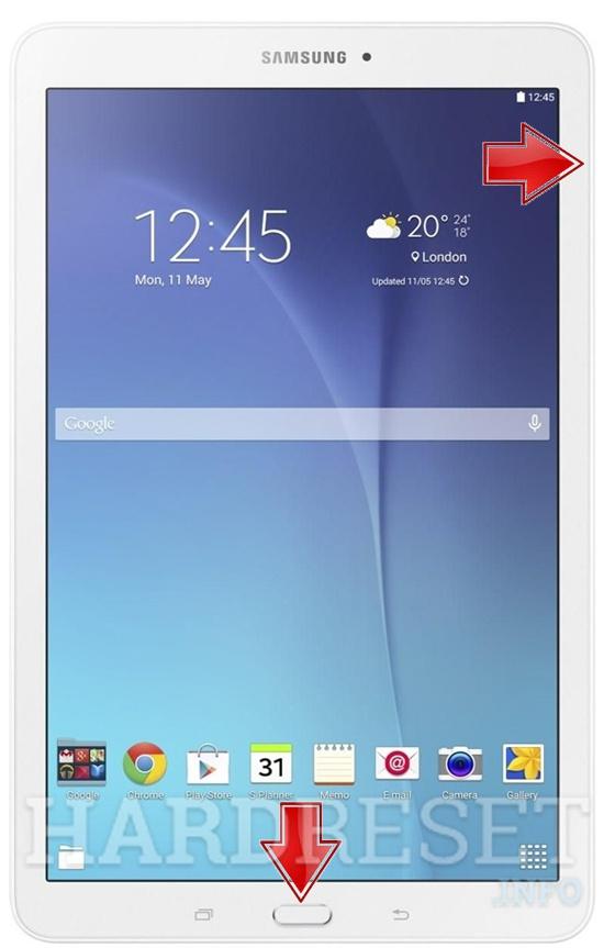 Screenshot Samsung T560 Galaxy Tab E 9 6 Wifi How To Hardreset Info
