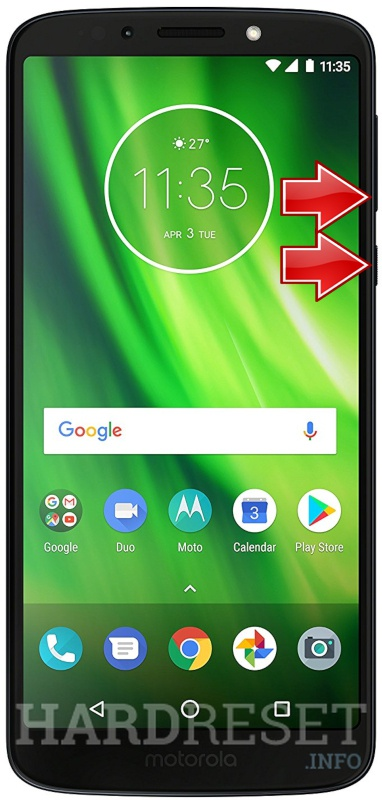 Fastboot Mode Motorola Moto G6 Play Hardreset Info