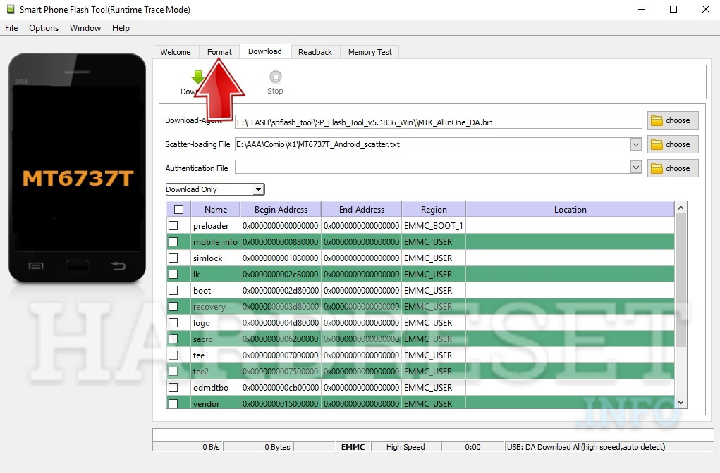 How to bypass Google Account protection in COMIO X1 phone