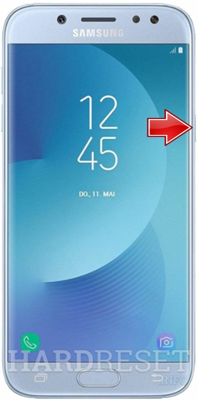 Permanently delete data from SAMSUNG Galaxy J7 Top