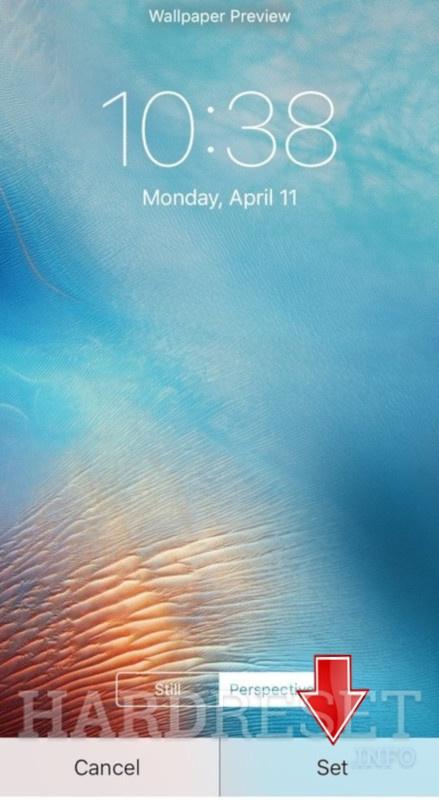 تغيير خلفية الشاشة Apple Iphone 6 Plus عرض المزيد Hardreset Info