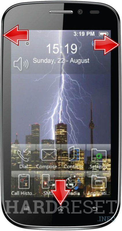 HardReset MICROMAX A71