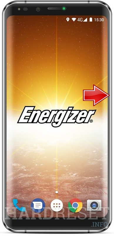 Hard Reset ENERGIZER Power Max P600S