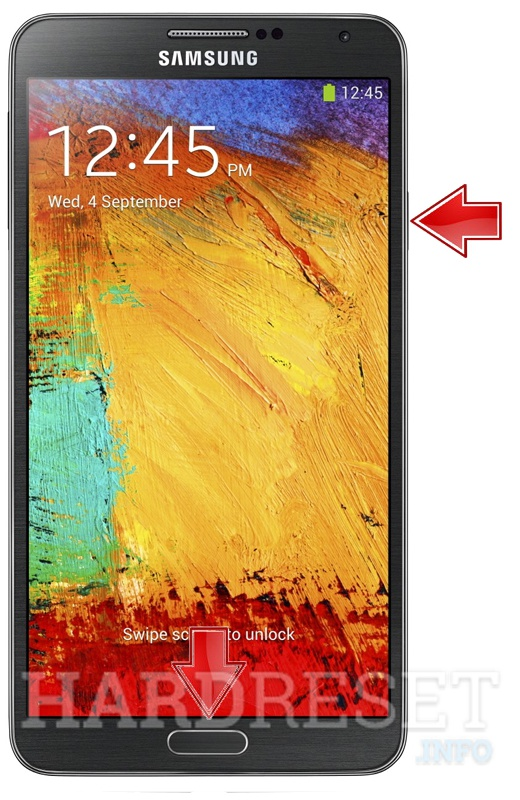 Remove screen password on SAMSUNG N900 Galaxy Note 3
