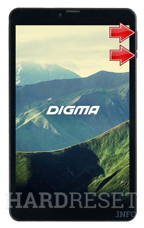 Remove screen password on DIGMA Plane 8550S 4G