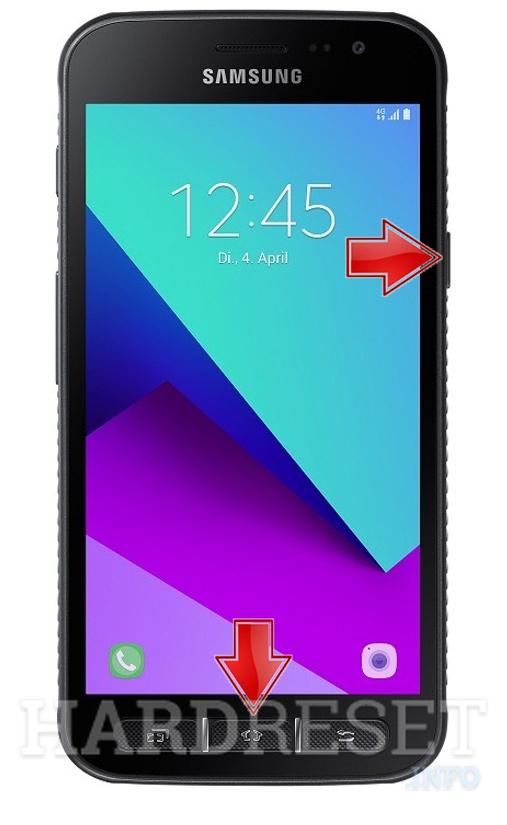 Screenshot Samsung Galaxy Xcover 4 Hardresetinfo