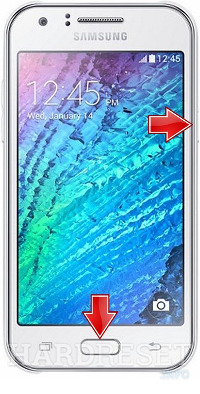 Remove Screen Lock on SAMSUNG J200F Galaxy J2