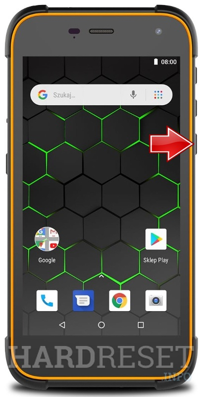 Remove screen password on HAMMER Active 2 LTE