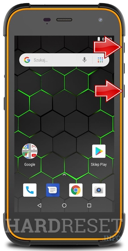 Remove Screen Lock on HAMMER Active 2 LTE