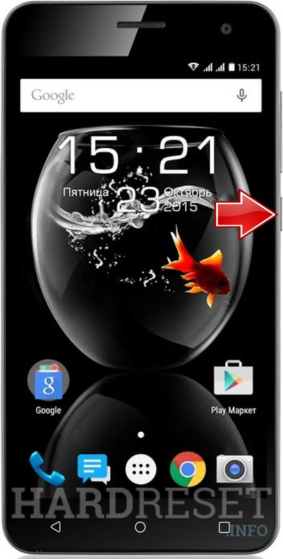 Odstranit Screen Lock na FLY Cirrus 2