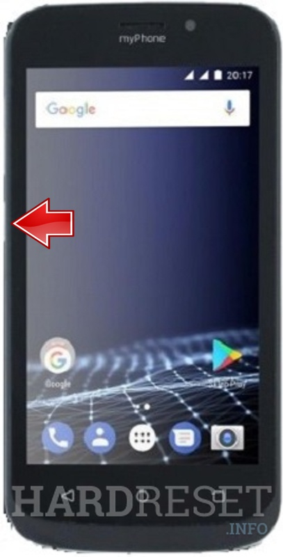 Hard Reset myPhone Pocket 2