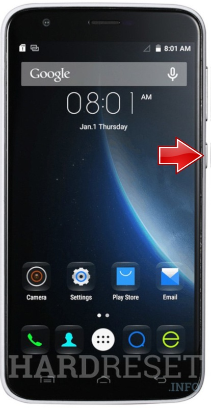 Permanently delete data from DOOGEE Valencia 2 Y100 Plus