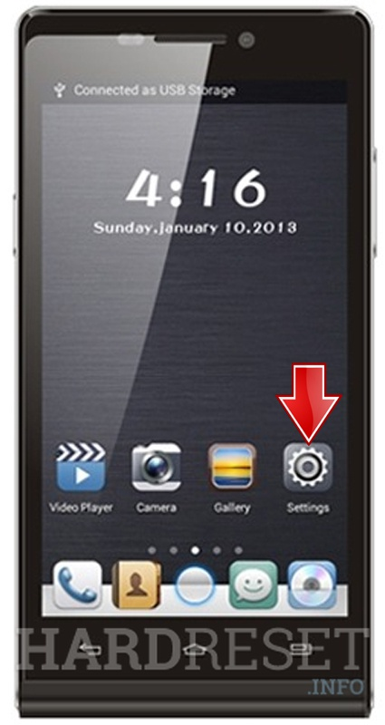 Remove Screen Lock on GFIVE President A97