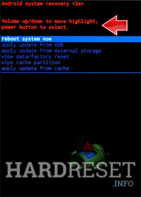 Factory Reset GFIVE President A97