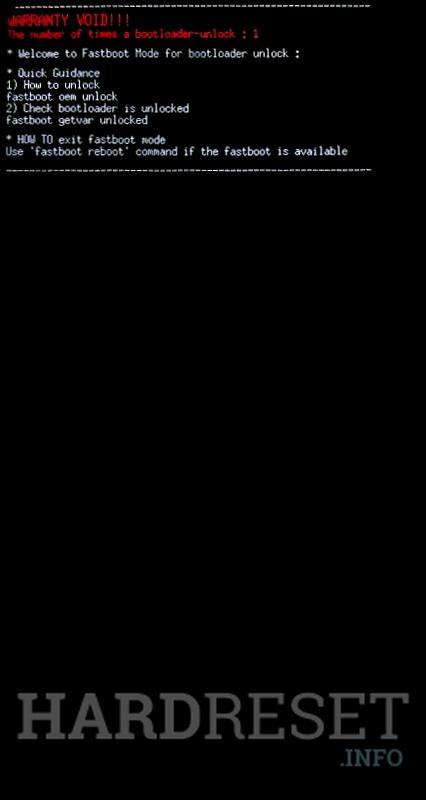 Fastboot Mode LG G8 ThinQ - HardReset info
