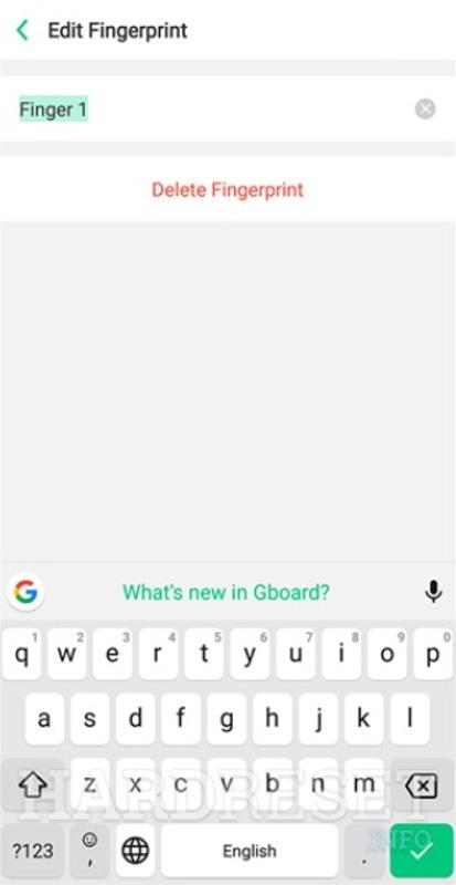 Add Fingerprint OPPO F11 Pro - HardReset info
