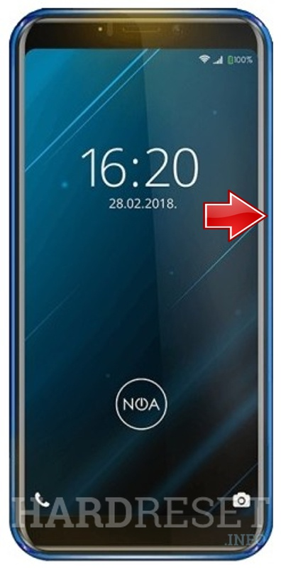 Remove Screen Lock on NOA Vivo 4G