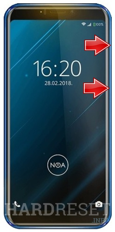 Permanently delete data from NOA Vivo 4G