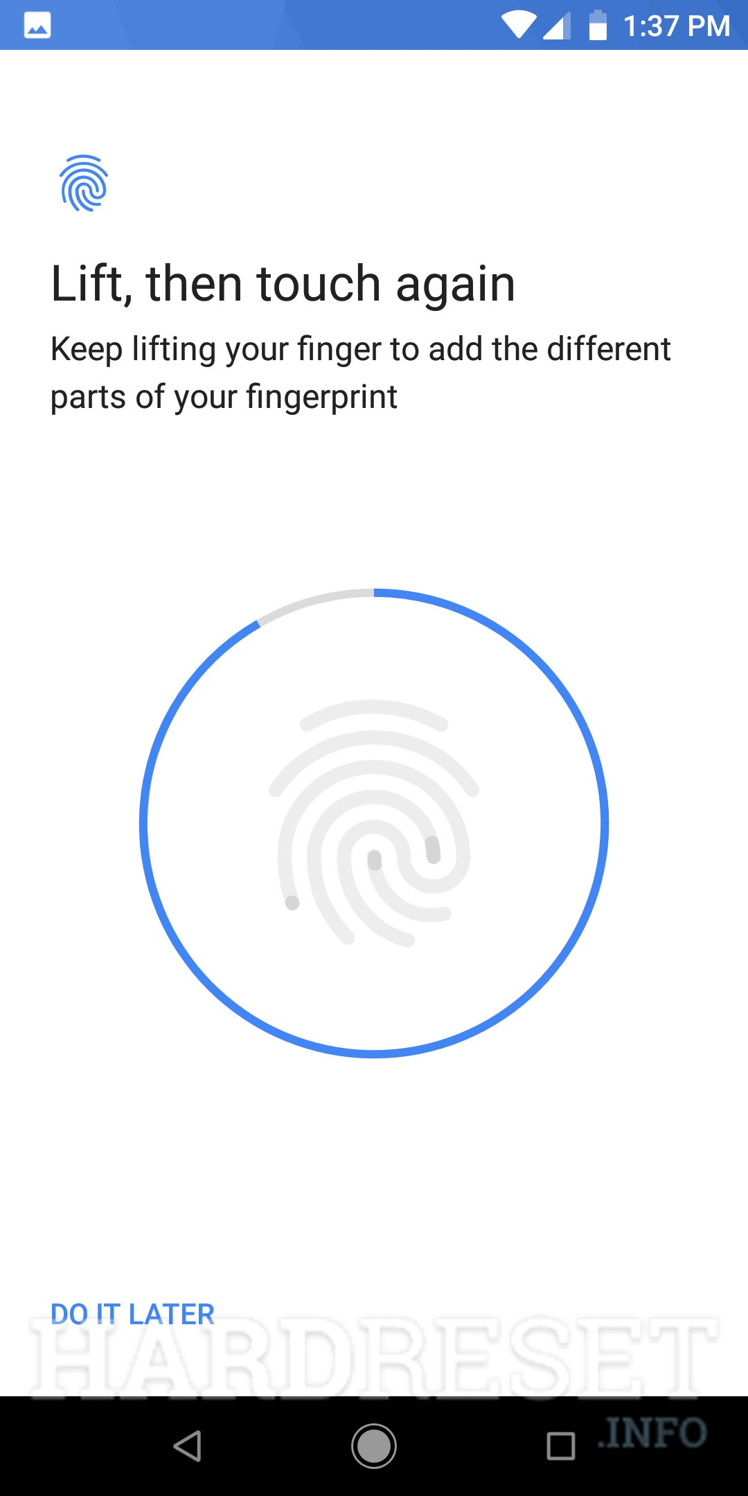 Add fingerprint XIAOMI Redmi 6 Pro