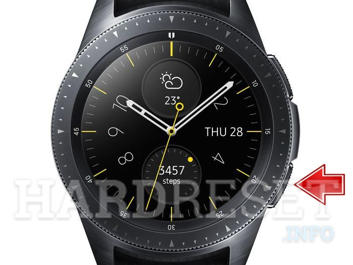 SAMSUNG Galaxy Watch screen
