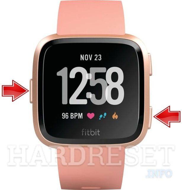 how to reset fitbit inspire hr