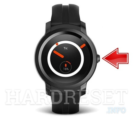 Remove Screen Lock on MOBVOI TicWatch E2
