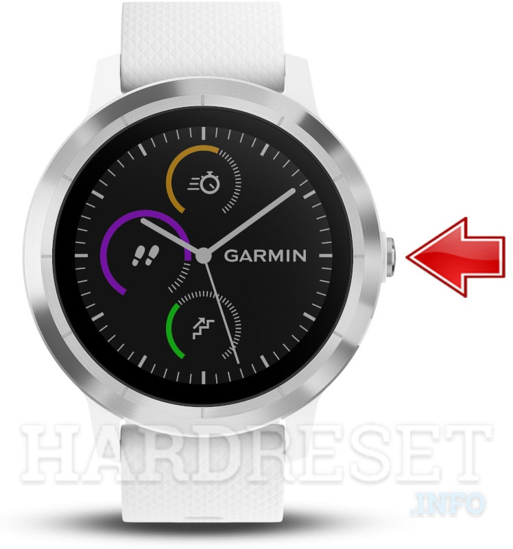 Hard Reset GARMIN Vivoactive 3 - HardReset info