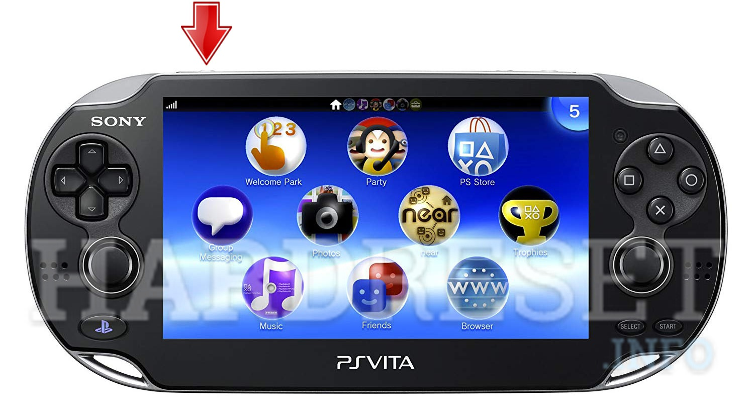 Hard Reset SONY PlayStation Vita WiFi