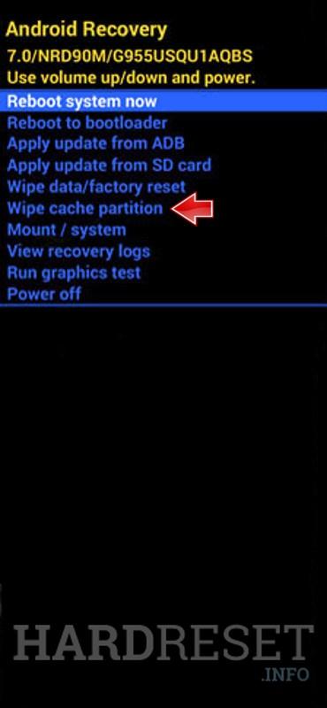 ASR 7.0 Wipe Cache Partition