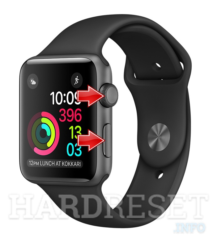 移除APPLE Watch Series 1 Aluminum 42mm上的屏幕锁