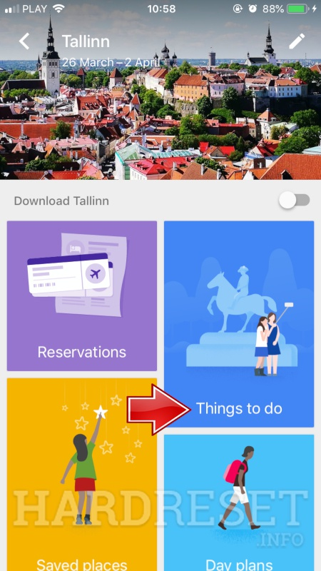 Google Trips Tutorial
